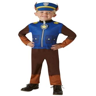 Image of Paw Patrol Chase udklædning til børn(Str. 98/Toddler)