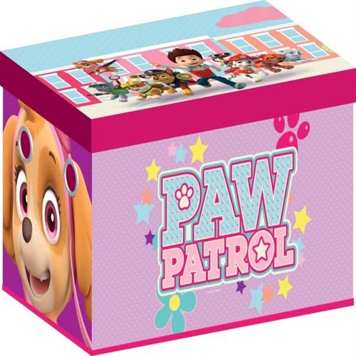 Image of Paw Patrol Girl Sammenklappelig Legetøjsbox