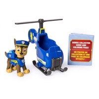 Paw Patrol - Ultimate Rescue Mini - Chase Mini Helikopter 20101478