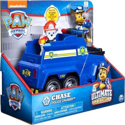 Image of Paw Patrol - Ultimate Themed Fartøjer - Chase (0778988181973)