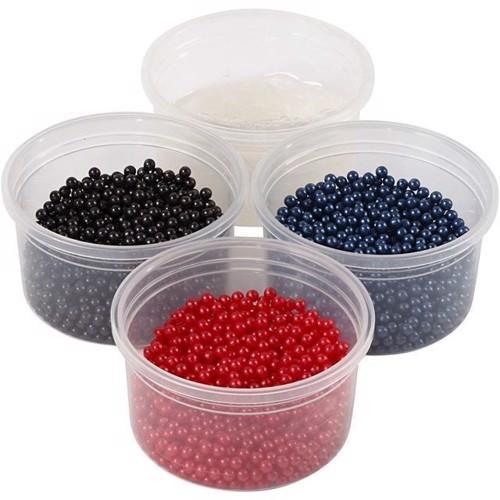 Image of Modellervoks, Pearl Clay, sort, rød, mørk blå