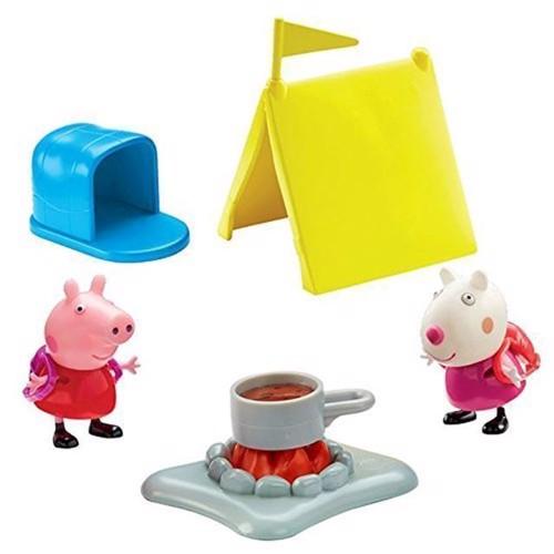 Image of Gurli Gris, Gurlig og Suzy på camping (6420840000000)