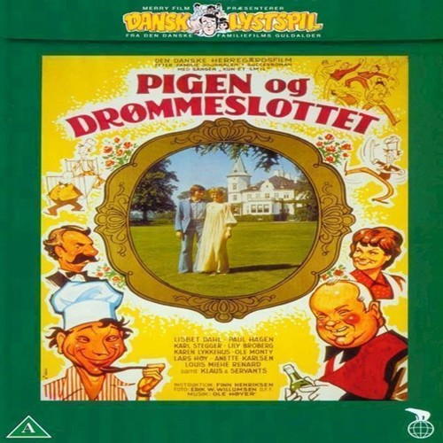 Image of Pigen og drømmeslottet DVD (5708758704151)