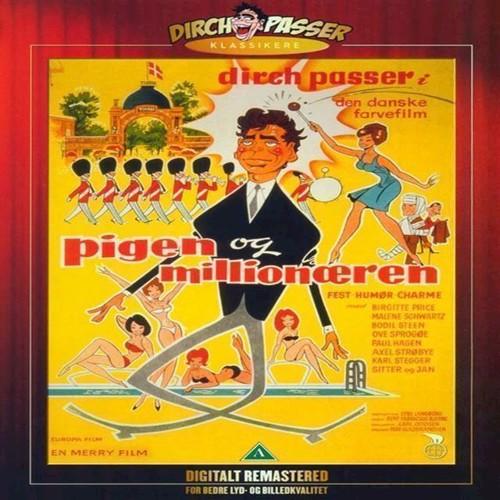 Image of Pigen Og Millionren DVD (5708758707176)