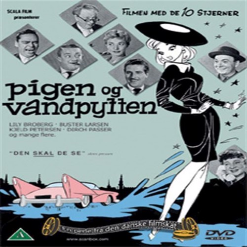 Image of Pigen og vandpytten DVD (5708758703284)