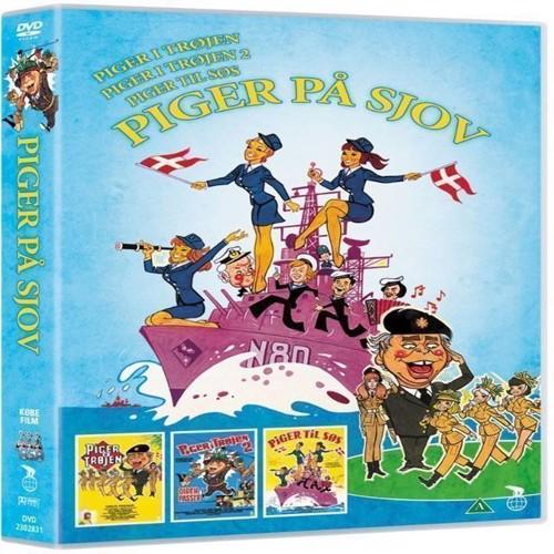 Image of Piger på sjov 3 film DVD (5708758707701)