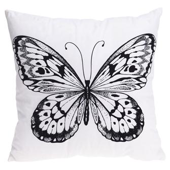 Image of Pude med sommerfugl