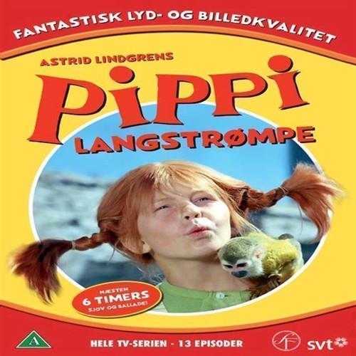 Image of   Pippi Langstrømpe, Hele Tv serien, 6 Disc, DVD
