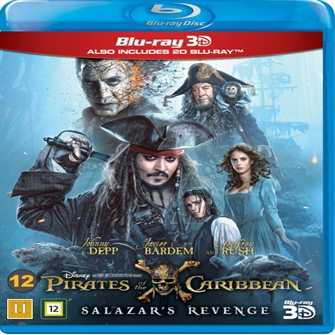 Image of Pirates of the Caribbean: Salazar's Revenge (3D Blu-Ray) (8717418506971)