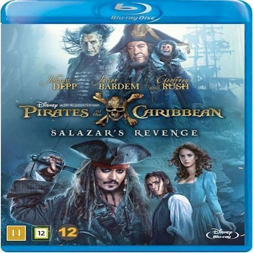 Image of Pirates of the Caribbean Salazars Revenge Blu-ray (8717418506940)