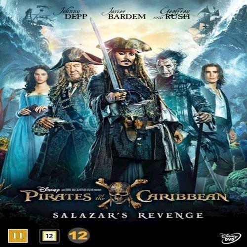 Image of Pirates of the Caribbean Salazars Revenge DVD (8717418506926)