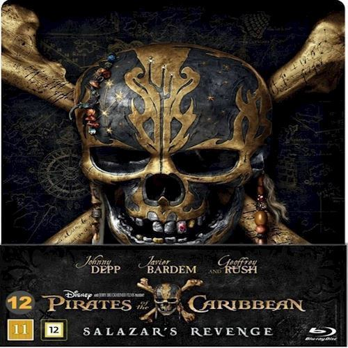 Image of Pirates Of The Caribbean Salazars Revenge Steelbook Blu-Ray (8717418511289)
