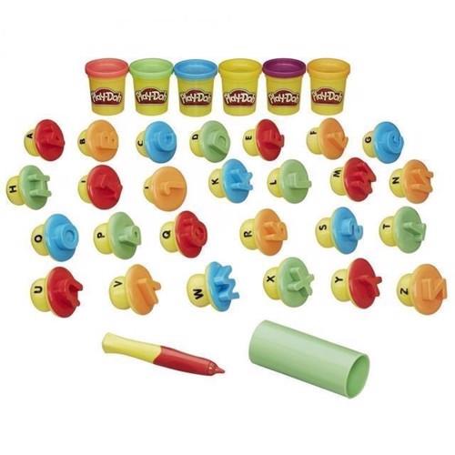 Image of Play Doh - bogstaver og sprog