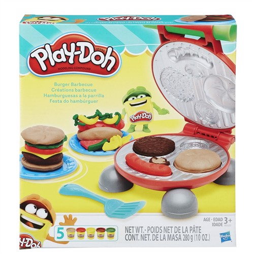 Image of Play Doh Burger Barbecue
