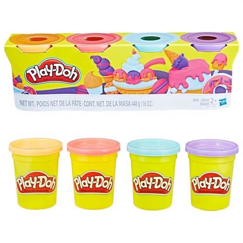 Image of Play Doh colors jar søde farver 4 stk