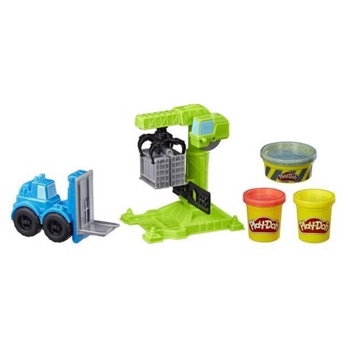 Image of Play-Doh - Kran og Gaffeltruck (E5400EU4)