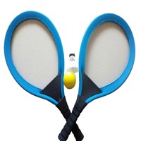 Playfun - 2 in 1 Soft Racket sæt