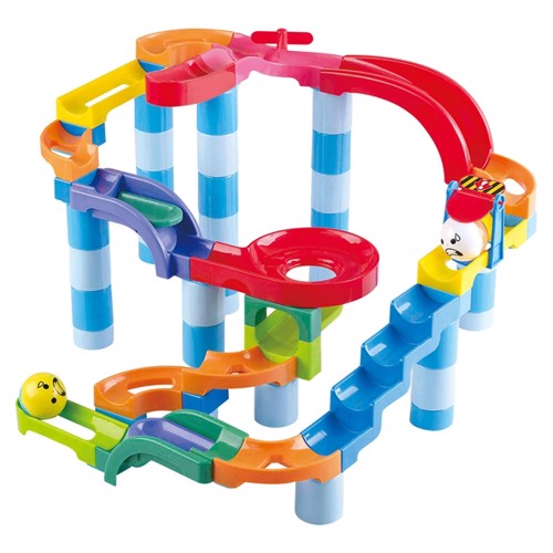 Image of Playgo Ball track Power, 79 pcs. (4892401093462)