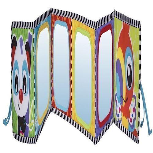 Image of Aktivitetslegetøj Tummy bog med spejle, Playgro (9321104869715)