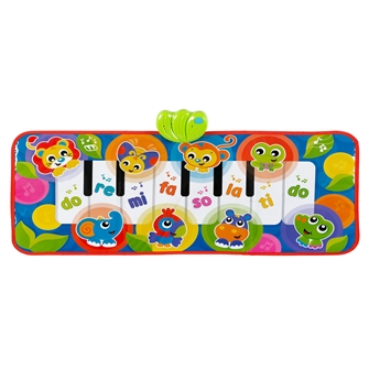 Image of Playgro Jumbo Jungle Musical Piano Mat