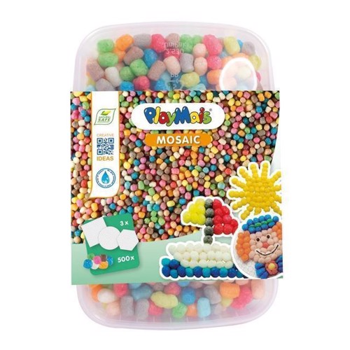 Image of PlayMais Mosaik farvemix 500 dele