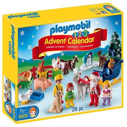 Image of Playmobil 123 9009 julekalender (4008789090096)