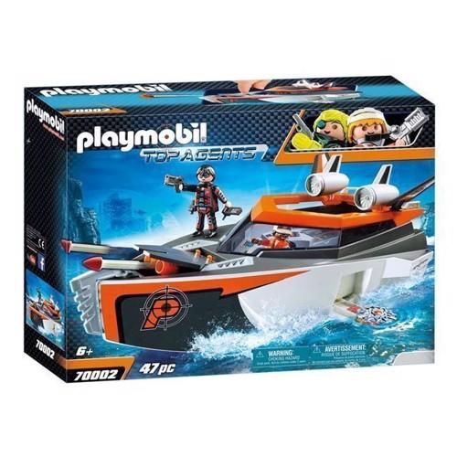 Image of Playmobil 70002 Spy Team Turboschip
