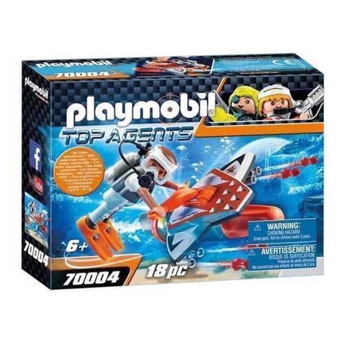 Image of Playmobil 70004 Spy Team undervandsjet