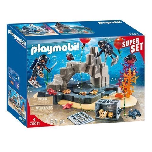 Image of Playmobil 70011 Superset SWAT undervands mission (4008789700117)