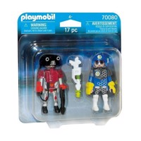 Playmobil 70080 Duopack Space Agent og Robot