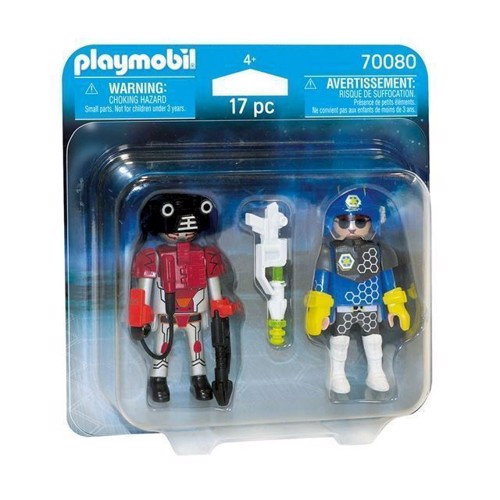 Image of Playmobil 70080 Duopack Space Agent og Robot