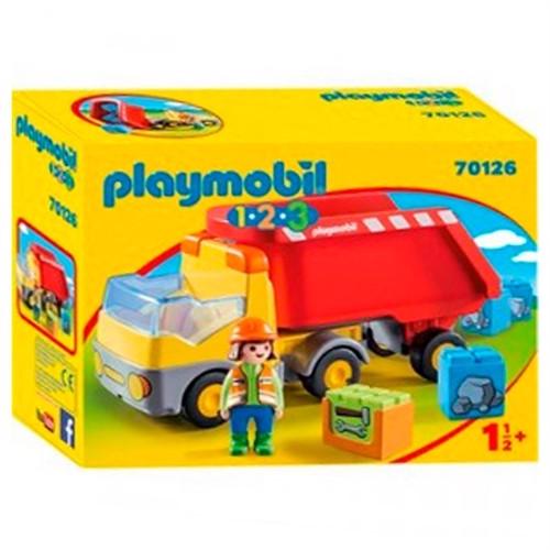 Image of Playmobil 70126 tip lastbil (4008789701268)