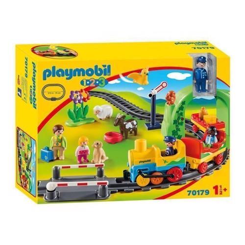 Image of Playmobil 70179 Mit Første Tog (4008789701794)