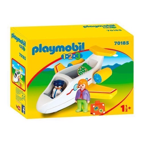 Image of Playmobil 70185 Fly Med Passager