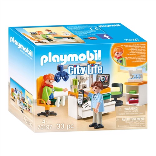 Image of Playmobil 70197 Øjenlæge (4008789701978)