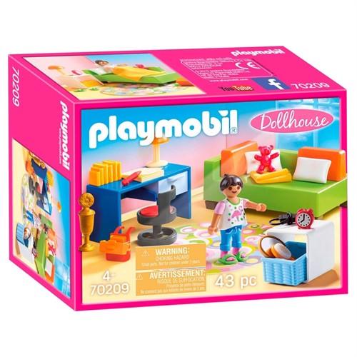 Image of Playmobil 70209 børneværelse med sovesofa