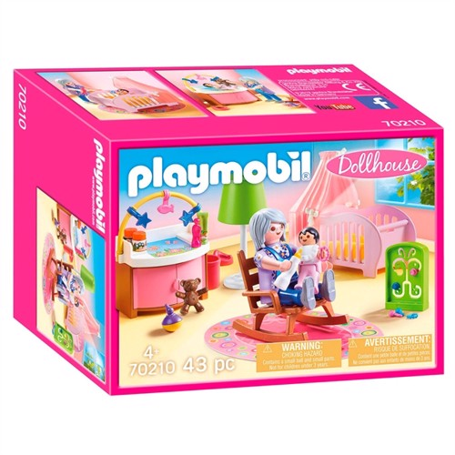 Image of Playmobil 70210 babyværelse