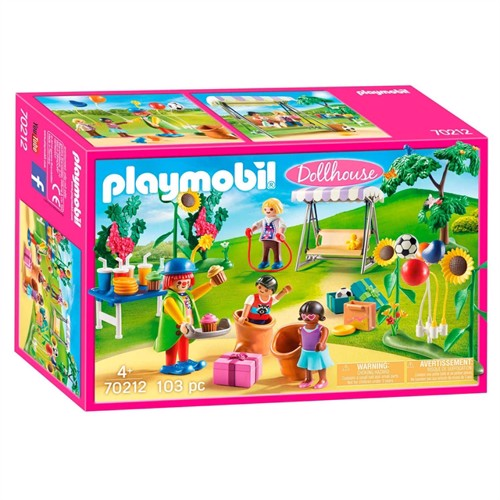 Image of Playmobil 70212 børnefødselsdag med klovn
