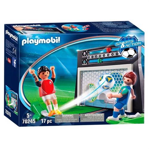 Image of Playmobil 70245 Football wall (4008789702456)
