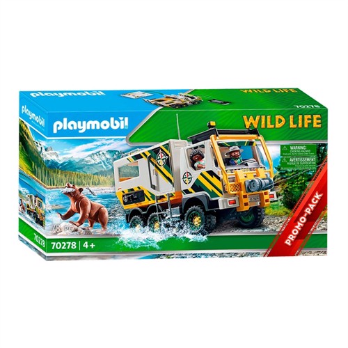 Image of Playmobil 70278 Expedition Truck (4008789702784)
