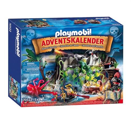 Playmobil 70322 Julekalender, pirat skattejagt