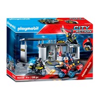 Playmobil 70338, powerstation, tag med