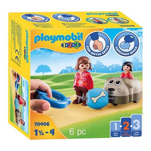 Image of Playmobil 70406 Dog train (4008789704061)