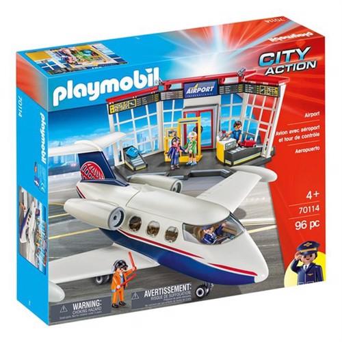 Image of Playmobil 70114 Club Sæt, lufthavn