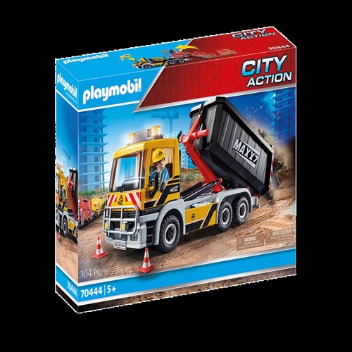Image of Playmobil - Construction Truck (70444) (4008789704443)