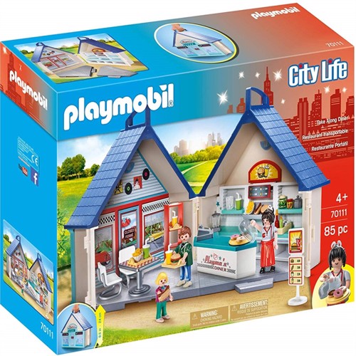 Image of Playmobil 70110 Diner