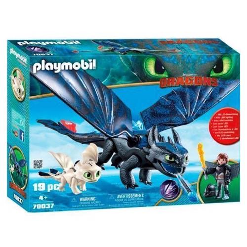Image of Playmobil Dragons 70037 Hikke & Tandløs