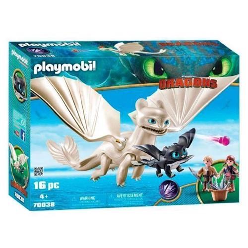 Image of Playmobil Dragons - Light Fury Legetøjssæt