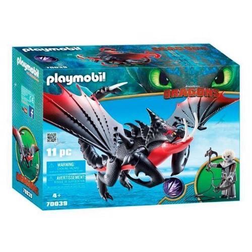 Image of Playmobil Dragons - Dødsklo Og Grimmel (70039)