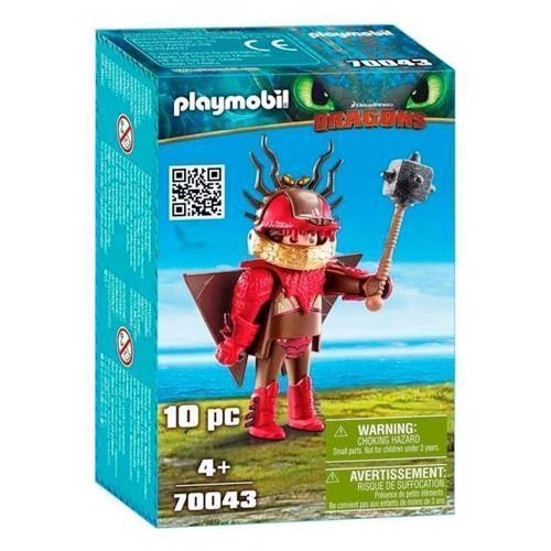 Image of Playmobil Dragons - Snotfjæs I Flyveuniform